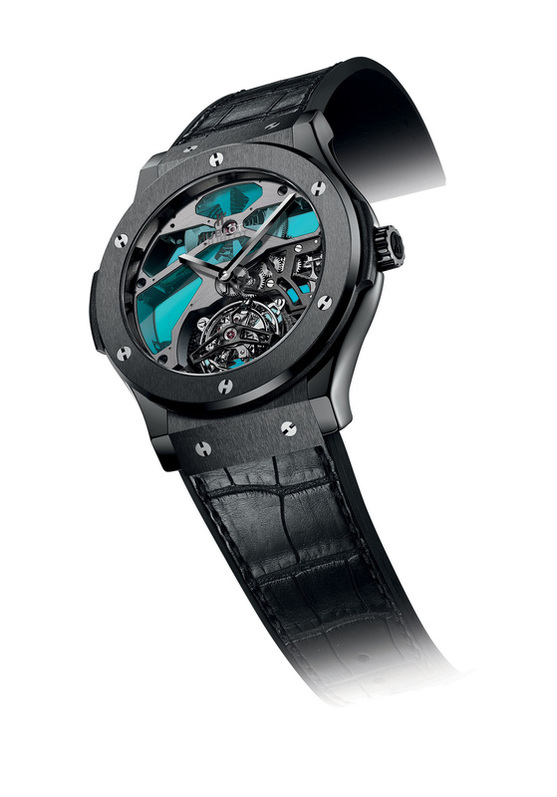 hublot classic fusion tourbillon vitrail replica watches online sale