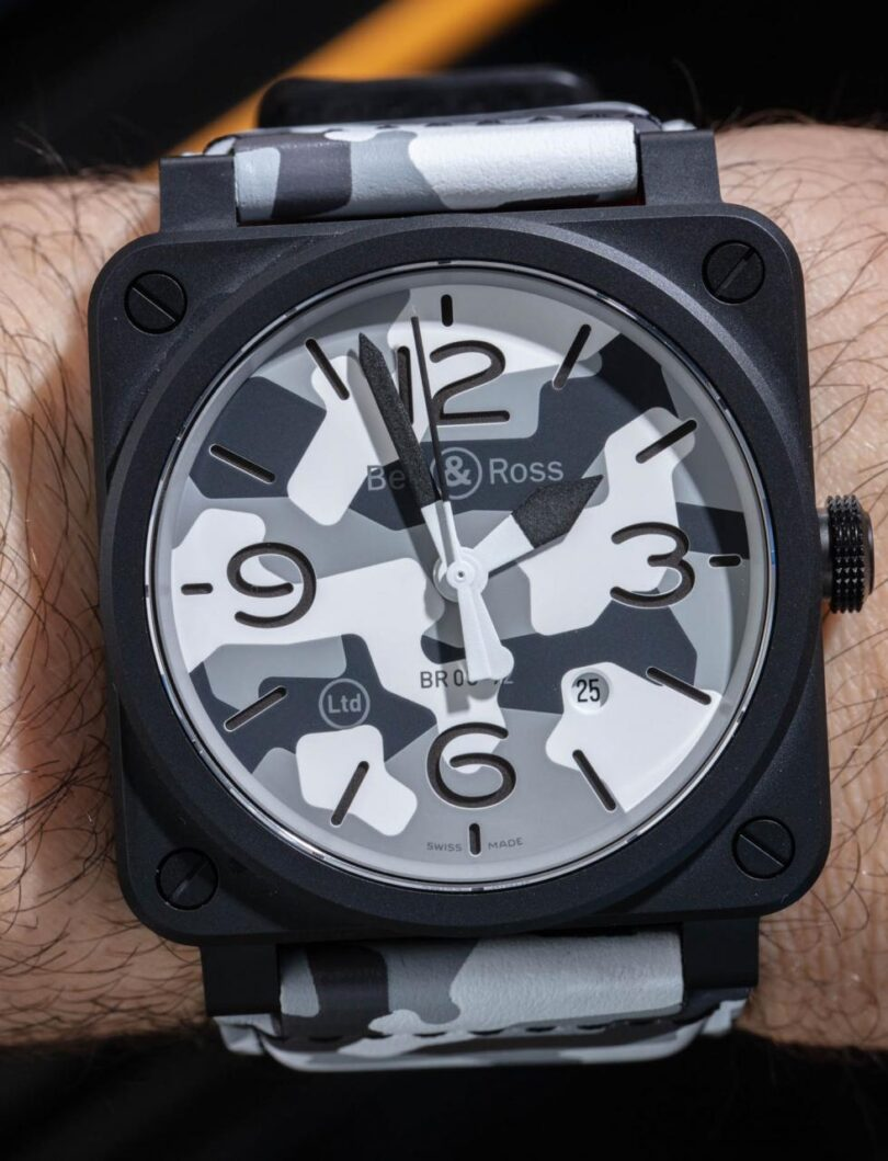 Bell & Ross BR 03-92 White Camo Replica Watch